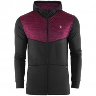 Outhorn Sporty Hoodie, fleece jakke, herre, rød
