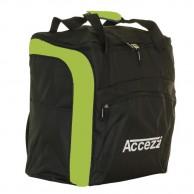 Accezzi Function, støvle- og hjelmtaske, sort/grøn