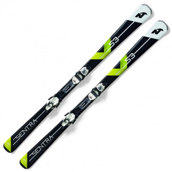 Nordica Sentra S3 en sjov og letkørt ski til den let øvede kvindelige skiløber, der vil have en afslappet og eftergivende ski at udvikle sig på.Skien er blandt andet udstyret med let balsatræ og to carbonplader, som sørger for, at skien giver godt igen i svingene, samtidigt med at kantgrebet er fornuftigt. Så er du sikret sjov og stabilitet ved langt de fleste hastigheder. Skien er dog også tilpas eftergivende, til at der er plads til fejl i teknikken. Desuden er den særdeles nem at dreje ved lave hastigheder. Den gør sig bedst i korte sving.Denne ski er perfekt til dig, der gerne vil have en afslappet og let kontrollerbar ski at lære at carve på, men som du også kan beholde i nogle år efter, som du bliver bedre.Specifikationer og features:DameskiDimensioner: 124 - 75 - 104 mm (156 cm)Radius: 12,5 meter (156 cm)Balsatræ i kernenCarbonpladerNiveau: let øvetBinding: TP2 Compact 10 FDTInkl. binding og montering af denneOBS Levering:- Skiene sendes med GLS, hvilket tager 1-3 hverdage. Vær