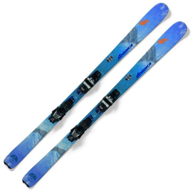 Nordica Astral 78 er videreudviklingen af den vildt populære NRGY-serie, hvormed Nordica beviste, at man sagtens kunne lave en legesyg all-mountain ski, som kunne performe, når der skulle carves sving på pisten.Skien er som skræddersyet til den let øvede/øvede kvindelige skiløber, som kører i alt vejr og alle forhold. Når der er faldet lidt nysne om natten, hjælper skiens rocker i forenden dig med at holde spidserne ovenpå, og på pisten giver camberen dig en forbavsende stabilitet og kantgreb. Dette kommer dig også til gode, når sneen bliver blødt eller opkørt hen på dagen. Denne ski passer altså bedst til skiløberen, der også kører på ski, selvom sneen på pisten er opkørt eller blød.Alt dette er opnået ved at give skien en fuld sandwich-konstruktion med en kerne af særdeles let balsatræ, som gør skien livlig og responsiv, og en plade af titanal, som gør skien stabil.Specifikationer og featuresAll-mountain dameskiDimensioner: 114 - 78 - 99 mm (158 cm)Radius: 14 meter (158 cm)Kerne af b