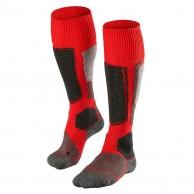 Falke SK1 skistrømper, rød