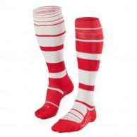 Falke SK4 Stripe skistrømper, dame, scarlet