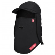 Airhole 5 Panel Hat, black