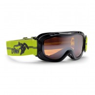 Demon Magic junior skigoggle, sort/gul