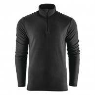 Outhorn Mideli 1/4 zip fleecepulli, børn/junior, sort