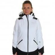 DIEL Zermatt skijakke, dame, hvid