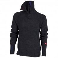 Ulvang Rav sweater w/zip, herre, mørkegrå
