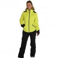 DIEL Zermatt skijakke, dame, gul
