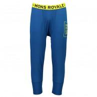 Mons Royale Shaun-off 3/4 Legging, skiunderbukser, herre, oily blue