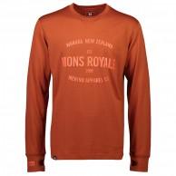 Mons Royale Yotei Tech LS, skiundertrøje, herre, clay