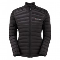 Montane Featherlite Down Micro Jacket, dame, sort