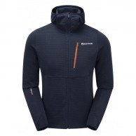 Montane Power Up Pull-Up Hoodie, herre, blå