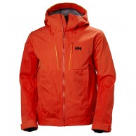 Helly Hansen Alpha Shell Jacket, herre, orange