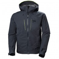 Helly Hansen Alpha Shell Jacket, herre, graphite blue