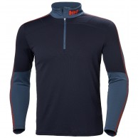 Helly Hansen Lifa Active 1/2 Zip undertrøje, herre, graphite blue
