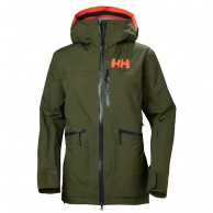 Helly Hansen W Powderqueen 2.0 Skijakke, dame, ivy green