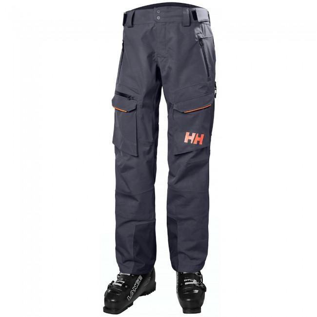 898fa68d Helly Hansen W Aurora Shell 2.0, skibukser, dame, graphite blue