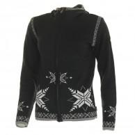 Kama Sif Merino Sweater med hætte, dame, graphite