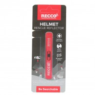 Recco Helmet Rescue, reflector, rød