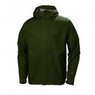 Helly Hansen Seven J, regnjakke herre, forest night