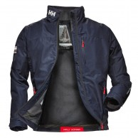 Helly Hansen Crew Midlayer Jacket, herre, navy