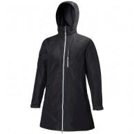 Helly Hansen W Long Belfast Jacket, dame, sort