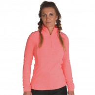 4F Thora Microtherm fleecepulli, dame, coral