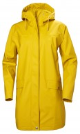 Helly Hansen Moss regnfrakke, dame, gul