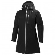 Helly Hansen Long Belfast vinterjakke, dame, sort