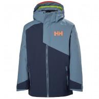 Helly Hansen Cascade skijakke, junior, blå