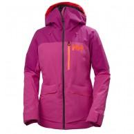 Helly Hansen Powchaser Lifaloft skijakke, dame, pink