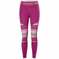 Helly Hansen Lifa Active Graphic pant, dame, lilla