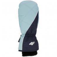 4F skihandsker, dame, blå