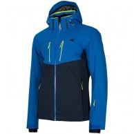 4F Noah, skijakke, herre, antracitgrå, blå