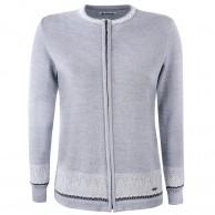 Kama Ragna, merino sweater, dame, lysegrå