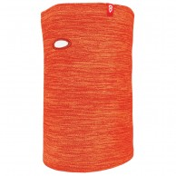 Airhole Halsedisse Microfleece, junior, heather orange