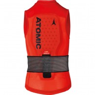 Atomic Live Shield Vest JR, rød