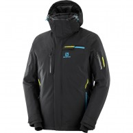 Salomon Brilliant JKT M, skijakke, herre, sort