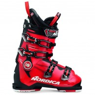 Nordica Speedmachine 130, skistøvler, herre, sort/rød
