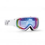 Demon Matrix, skibriller, hvid/blå