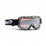 Demon Snow 6 Mirror skibriller, junior, army