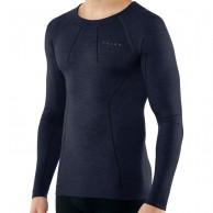 Falke Long Sleeved Shirt Wool-Tech, herre, blå