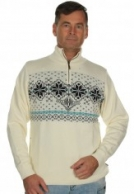 Kama Islandsk sweater m. Windstopper, hvid