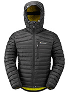 Montane Featherlite Down Dunjakke, herre, sort