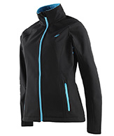 4F Greta softshell, damejakke, Sort