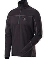 Haglöfs Actives Warm Zip Top, herrer