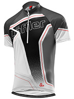 Löffler Bike-Trikot Performance Hz Race Aero, sort, herre
