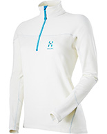 Haglöfs Actives Warm II Q Zip Top, damer
