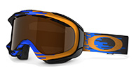 Oakley Ambush, Hyperdrive Orange, Black Iridium
