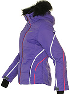 DIEL Ski Spirit II dameskijakke, lilla